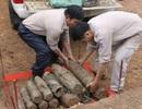 Quảng Trị: Phát hiện hàng chục quả đạn pháo trong lòng đất