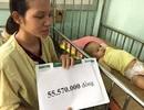 Hơn 55 triệu đồng tiếp tục với đến bé Hoài Thương ngã từ tầng 2 xuống