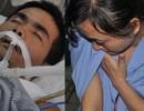 3 đứa trẻ thơ khóc lặng trước cảnh bố nguy kịch vì bệnh viêm cơ tim