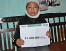 Hơn 41 triệu đồng đến với vợ ung thư chăm chồng xơ gan