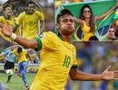 Neymar tỏa sáng, Brazil giành vé vào bán kết