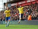 Arsenal có chiến thắng đầy gian nan trên sân Crystal Palace