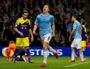 Man City nhẹ nhàng giành đại thắng trước Swansea
