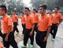 Tuyển Việt Nam dâng hương tại nhà riêng Đại tướng Võ Nguyên Giáp