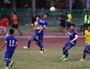 Olympic Việt Nam luyện bóng bổng đối đầu với Thái Lan