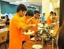 Cận cảnh bữa ăn của U23 Việt Nam tại Malaysia