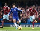 Fabregas thực hiện 103 đường chuyền ở trận thắng West Ham