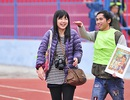 Nữ phóng viên Nhật Bản Megumi Hata cổ vũ Công Phượng