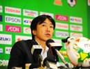 HLV Miura quyết tâm đánh bại đội tuyển Thái Lan