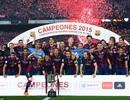Messi tỏa sáng, Barcelona đăng quang ở Cúp Nhà vua