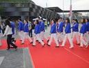Đoàn thể thao Việt Nam đổ bộ đến Singapore, tham dự lễ thượng cờ