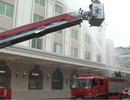 Trung tâm Thương mại Tràng Tiền diễn tập phòng cháy chữa cháy