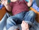 """Bé trai có 12 ngón tay và 12 ngón chân """"đánh đố"""" các bác sĩ"""