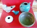Phát hiện nhiều cổ vật bằng gốm sứ thời Trần, Lê, Nguyễn.