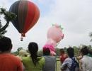 Người Hà Nội nô nức đi xem biểu diễn khinh khí cầu