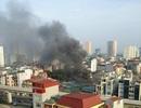 Hà Nội: Cháy lớn tại chợ Phùng Khoang, 3 mẹ con nhập viện