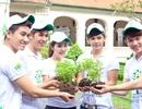 Vân Trang rủ V.Music chạy xe đạp đi trồng cây
