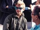 Romeo Beckham sành điệu trong quảng cáo Burberry