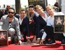 Backstreet Boys được lưu tên trên đại lộ Danh vọng