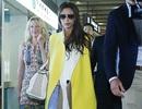Victoria Beckham lạnh lùng khi tới Bắc Kinh