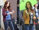 Megan Fox xinh đẹp tại trường quay