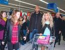 """Beyonce gây """"náo loạn"""" siêu thị"""