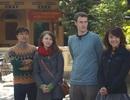Lan Trinh học hát quan họ cùng Tăng Nhật Tuệ