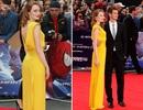 Emma Stone rực rỡ váy vàng trên thảm đỏ