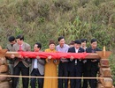 Lễ cất nóc chùa Chùa Ngọa Vân tại Khu di tích nhà Trần