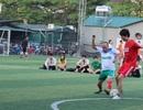 Sôi nổi trận bóng giao hữu giữa FC Dân trí và FC MISA