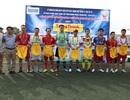FC Dân trí vào tứ kết cúp bóng đá Trung Thành
