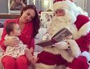"""""""Sao"""" nhí nhảnh bên Ông già Noel"""