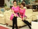 Mai Thu Huyền và chị gái trẻ trung với váy đôi