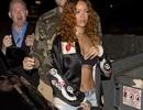 Rihanna gây choáng khi mặc nội y dạo phố