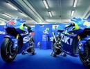 Suzuki và mẫu xe đua GSX-RR sẵn sàng cho MotoGP 2015
