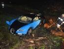 Đâm hỏng xe Bugatti Veyron ngay trong buổi chạy thử