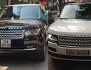 Hai xe Range Rover có biển số giống nhau