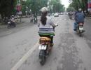 Xe mang biển kiểm soát 'lạ' tung tăng khắp Hà Nội