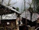 Mưa tuyết xuất hiện tại Cao nguyên đá Đồng Văn