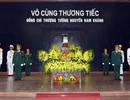 Tổ chức trọng thể lễ tang Thượng tướng Nguyễn Nam Khánh