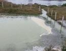 Bể chứa than, xỉ nhà máy nhiệt điện tràn ra kênh nước sinh hoạt