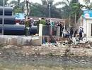 Phát hiện bộ cảnh phục và nhiều tư trang CSGT dưới hồ nước