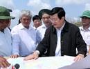 Chủ tịch nước khảo sát tuyến đê biển tại Trà Vinh, Sóc Trăng