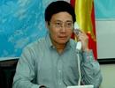 Bộ trưởng Ngoại giao điện đàm với người đồng cấp Trung Quốc