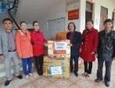 Trao hàng cứu trợ tới người dân xã An Lộc