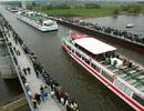 Cây cầu nước kỳ diệu Magdeburg