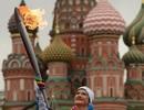 Du học sinh Việt náo nức rước đuốc Olympic 2014