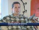"""Chàng trai Mỹ thoát khỏi """"bàn tay tử thần"""" trong vụ tuyết lở"""