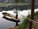 """Dân làng cổ Hà Nội qua sông theo cách """"lạ kỳ"""""""