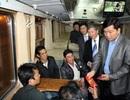 Niềm vui trên chuyến tàu kết năm có Bộ trưởng Đinh La Thăng